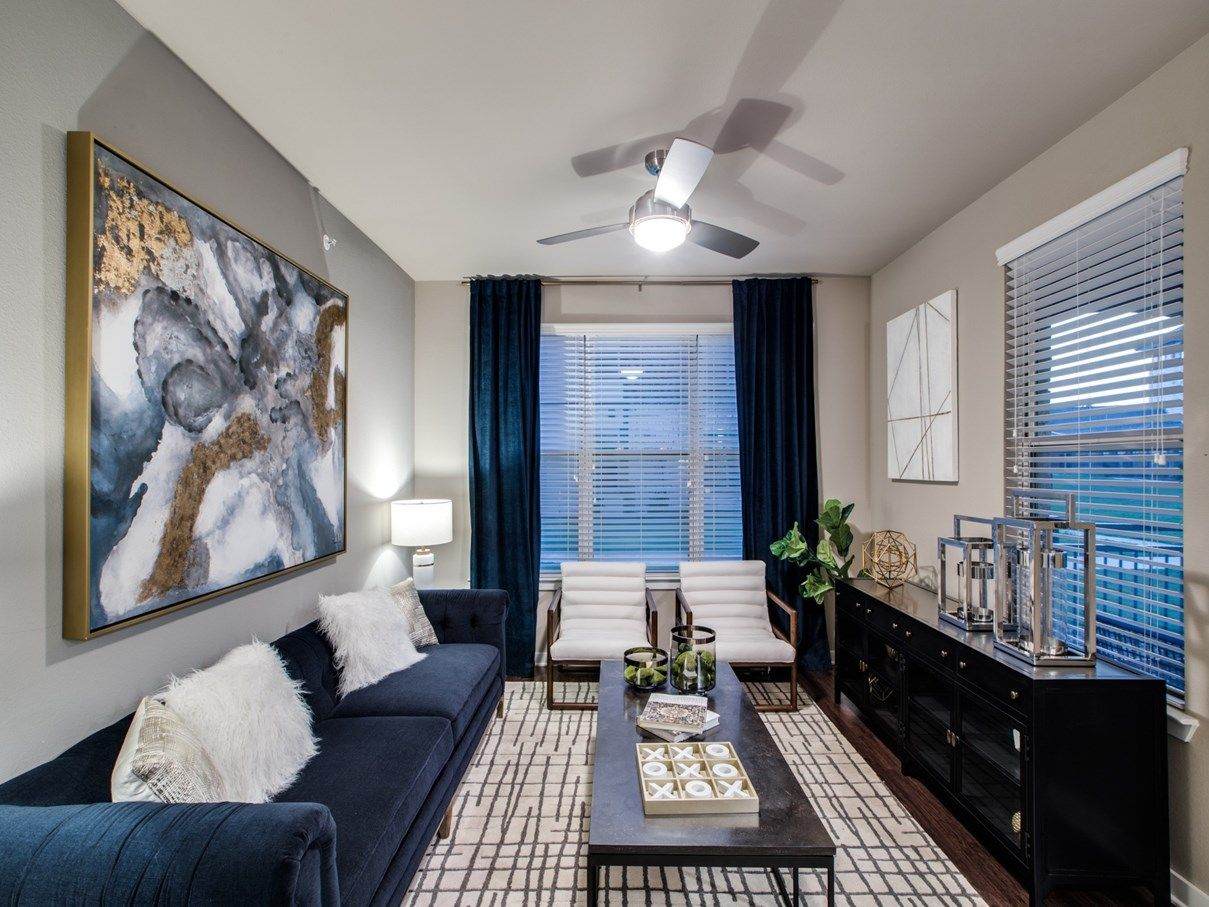 Living Room - Sanctuary at Jacobs Reserve Apartments