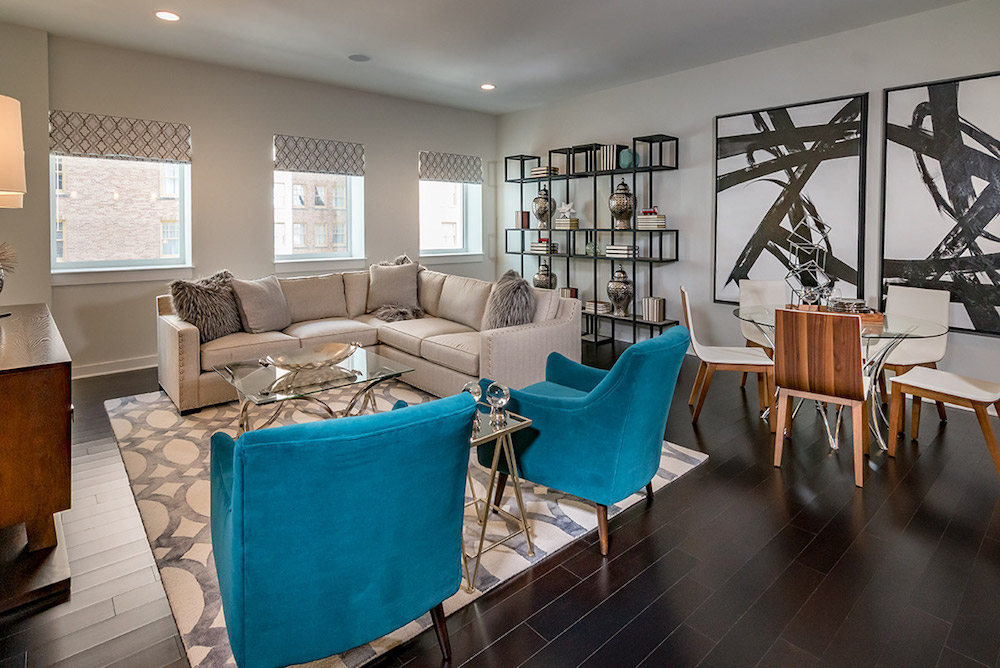 Living Room - The Star Apartments