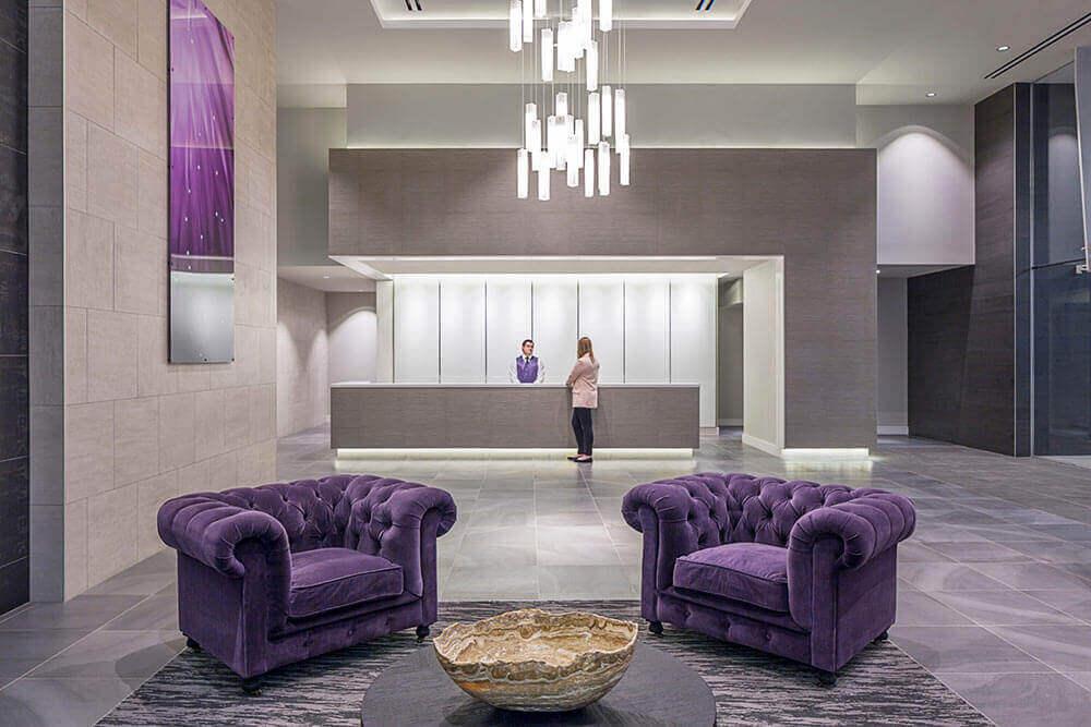 Lobby - Catalyst Apartments