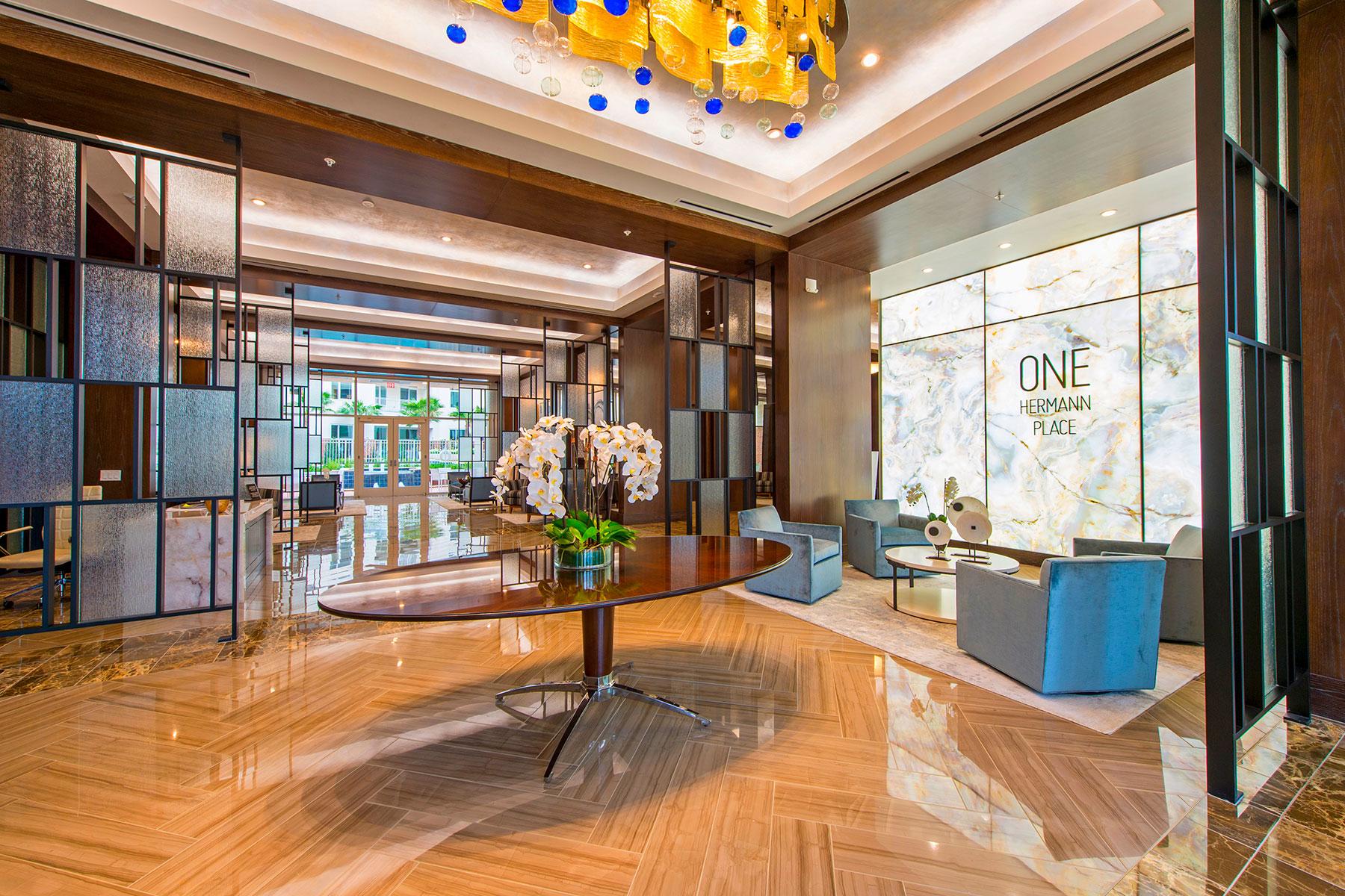 Lobby - One Hermann Place