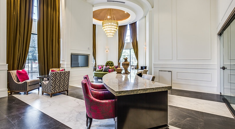Lobby - The Ivy Park Place Apartments