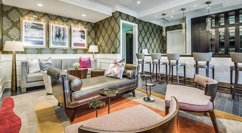 Lounge - The Ivy Park Place Apartments