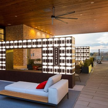 Outdoor Covered Lounge Area - St. Andrie