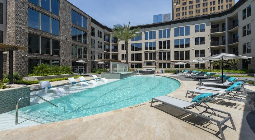 Pool - 1414 Texas Downtown Apartments