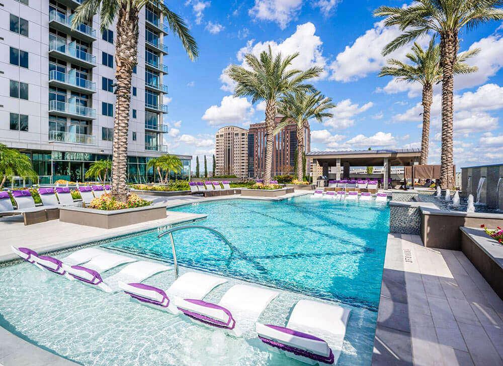 Pool - Catalyst Apartments