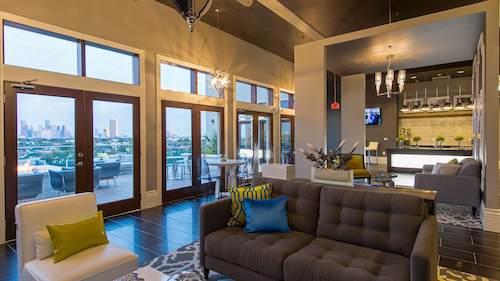 Resident Lounge - Elan Memorial Park