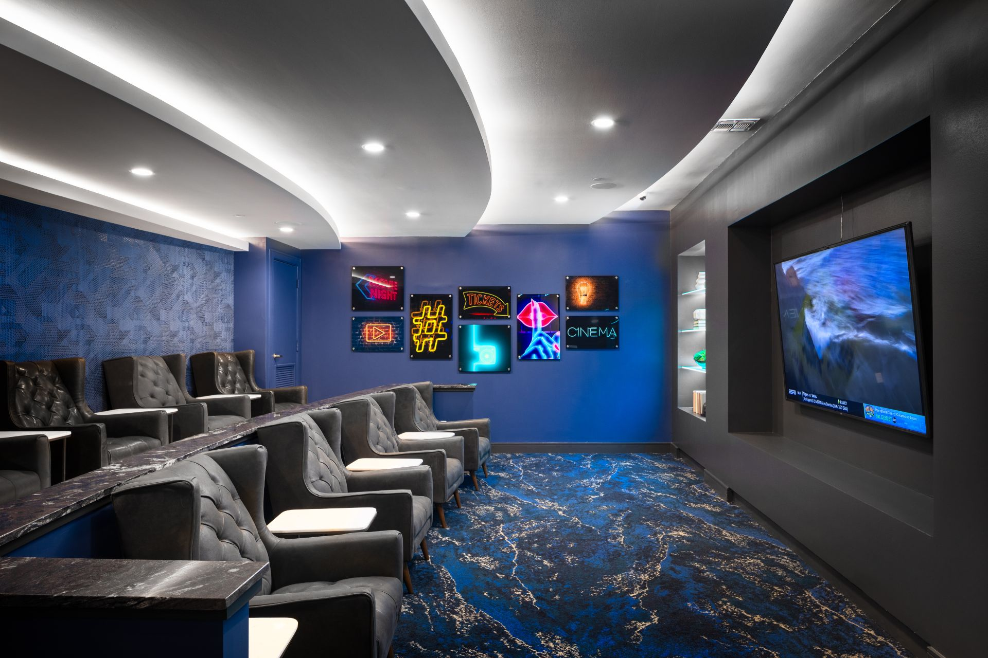 Theater Room - Broadstone Summer Street