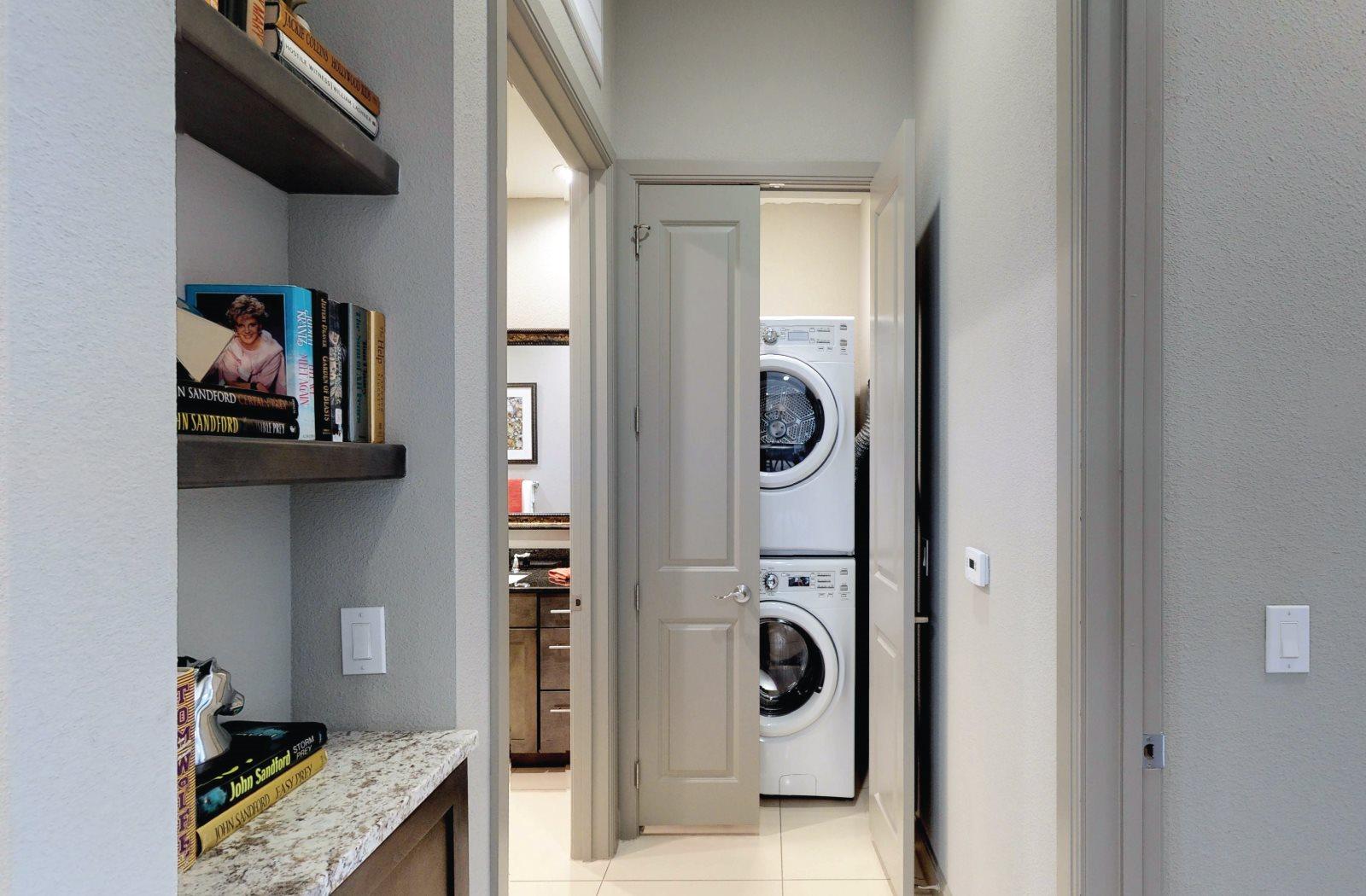 Washer-Dryer - Le Palais Apartments